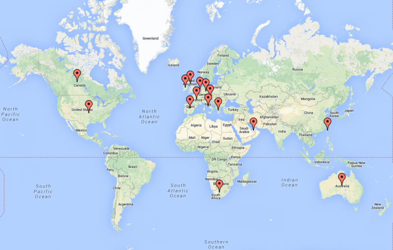 FV footprint map